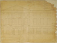 Colonial Building exterior plan, sheet 2