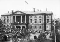 Taking of Pretoria celebration at Province House, 1900
