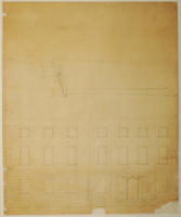 Colonial Building exterior plan, sheet 3