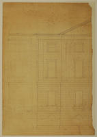 Colonial Building exterior plan, sheet 1